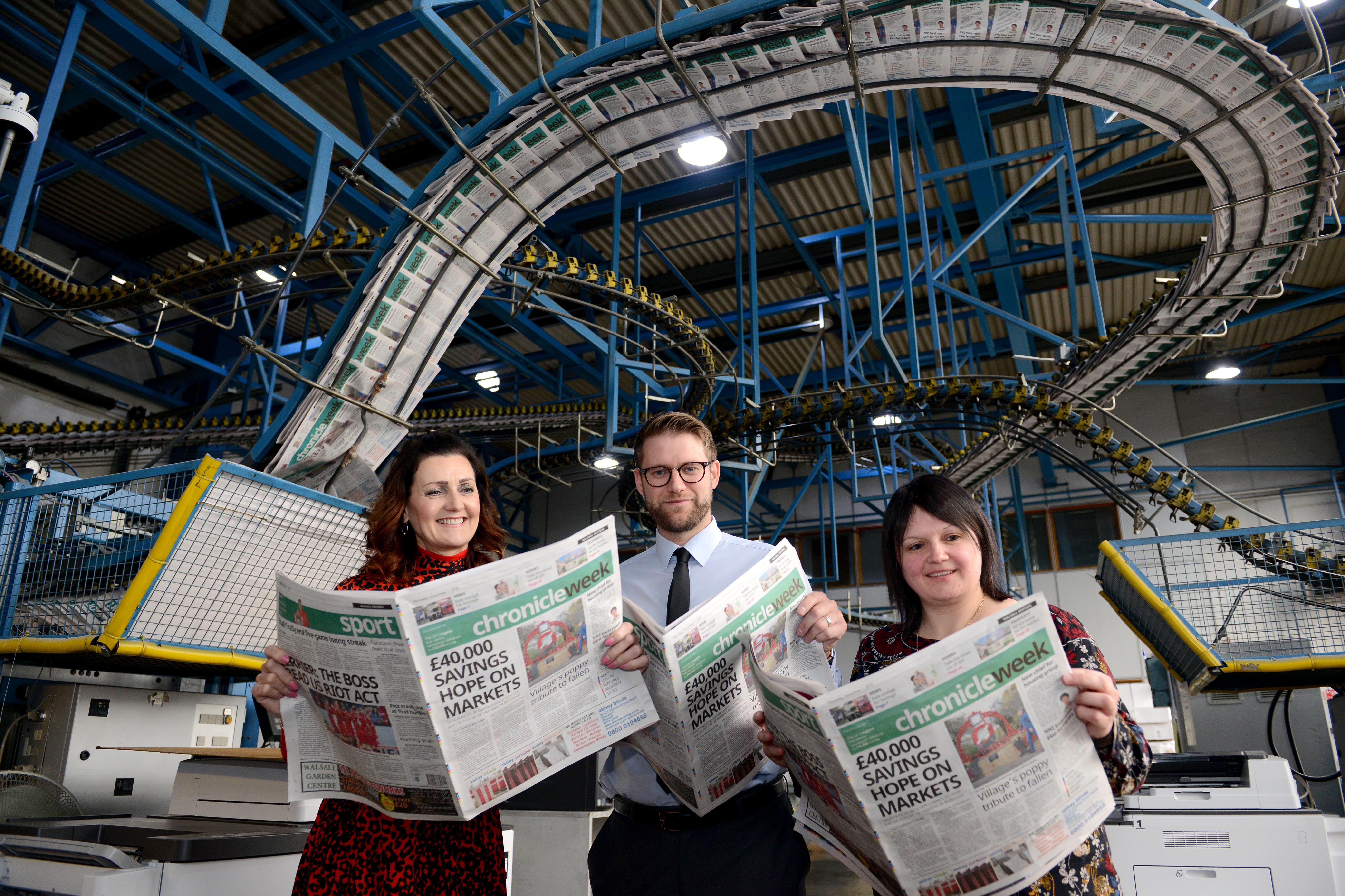 Midland News Association Launches Chronicle Week