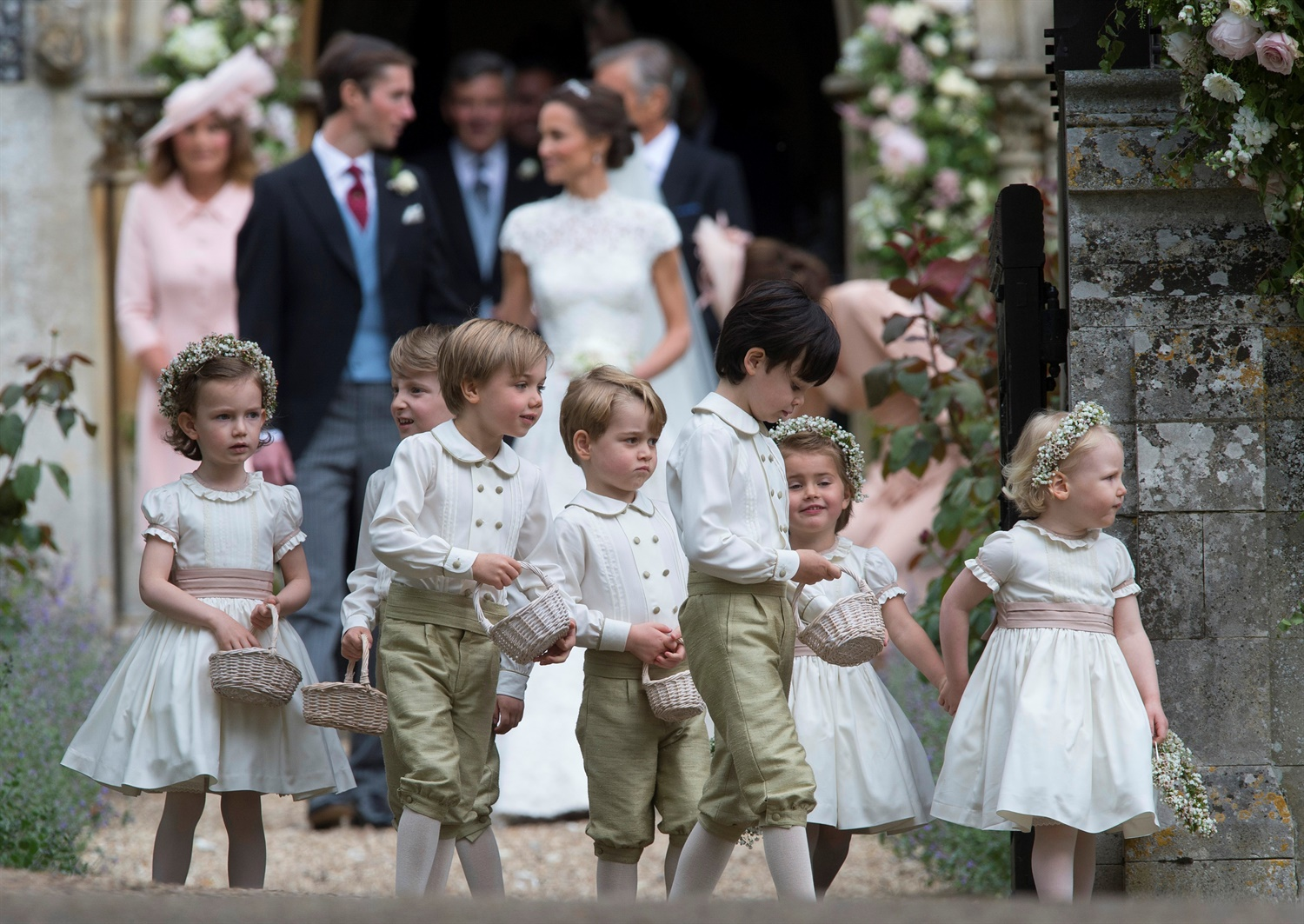 Philip Ide Mail on Sunday Prince George Pippa Middletons Wedding